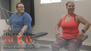 "Sam Goes to First ""Revenge Body"" Workout 