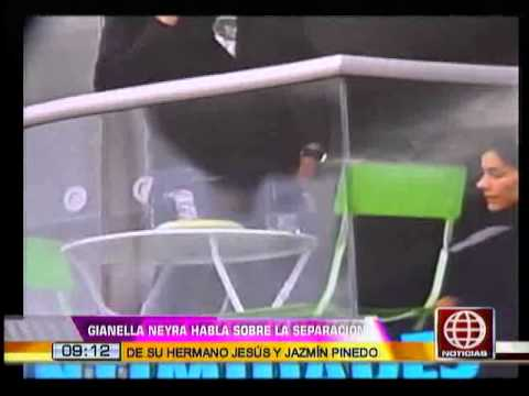 Gianella Neyra habló sobre la ruptura entre su hermano y Jazmín Pinedo