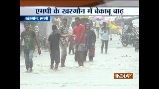 Madhya Pradesh: Rivers on a spate after heavy showers in Khargone - INDIATV