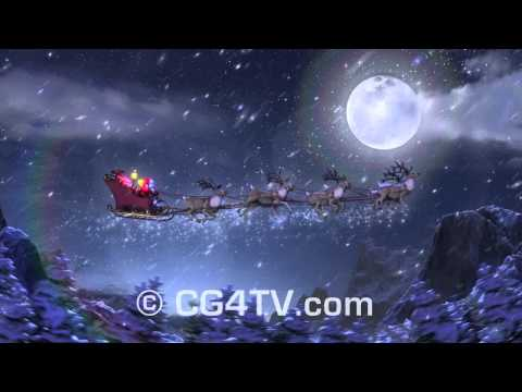 Christmas 3D Animations Collection. Happy Holidays Stock Footage