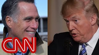 Mitt Romney is not ready to back Trump's 2020 bid - CNN