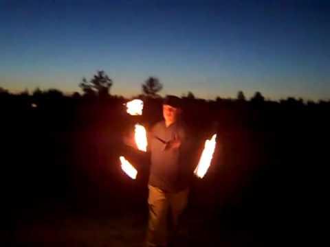 double fire staff