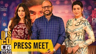Disco Raja Movie Press Meet | Ravi Teja, Nabha Natesh, Payal Rajput | VI Anand | SS Thaman - TFPC