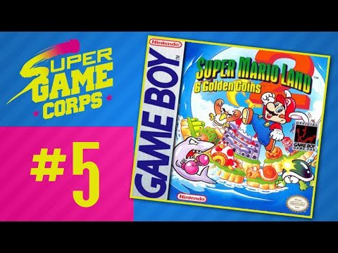 Super Mario Land 2: The Six Golden Coins - PART 5 - Super Game Corps