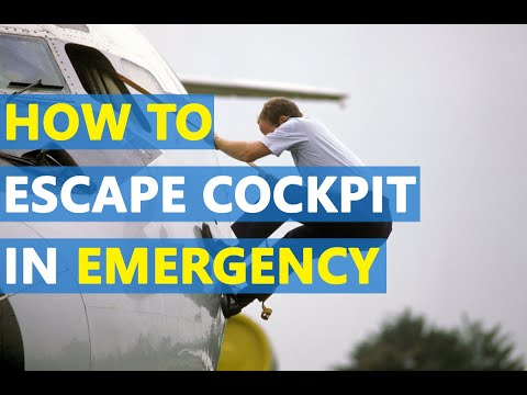 Cockpit Emergency Escape through Sliding Window