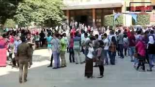 بالفيديو..جامعة القاهرة وعين شمس.. هدوء يسبق العاصفة