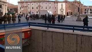 Strong earthquakes hit central Italy, no injuries reported - REUTERSVIDEO