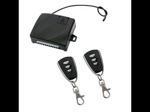 Inchidere centralizata cu telecomanda cu trei butoane - modul inchidere