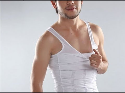 Original Slim N Lift Men Body Shaper Slimming Vest Singlet