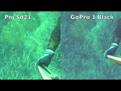PNJ Cam - Comparatif SD23 - GoPro Hero 3 black