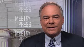 Full Tim Kaine Interview: Trump wall is a 'vanity project' | Meet The Press | NBC News - NBCNEWS