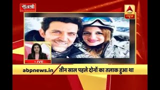 Hrithik Roshan and Sussanne Khan to get back together again, his close friend confirms the - ABPNEWSTV