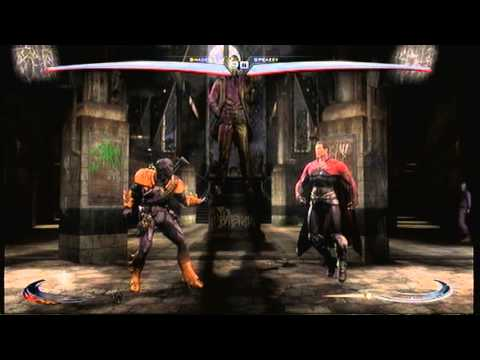 Injustice Gods Amoung us online - Deathstroke - Legit - Shadez 20z - part 2