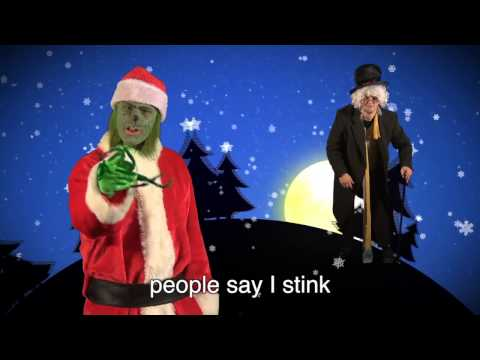 Scrooge vs The Grinch. Epic Rap Battles of Christmas