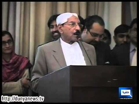 Dunya News-CM Sindh Qaim Ali Shah gets honorary doctorate despite 'angreji'