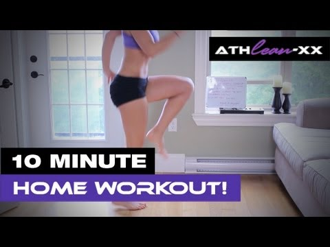 Exercise Plan for Women 10 Minute HOME