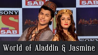 Siddharth Nigam and Avneet Kaur recreate popular fantasy show Aladdin I Exclusive I TellyChakkar - TELLYCHAKKAR