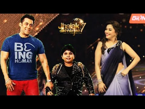Kick star Salman Khan on Jhalak Dikhhla Jaa 7 19th July 2014 EPISODE -- Salman Khan on Jhalak 7