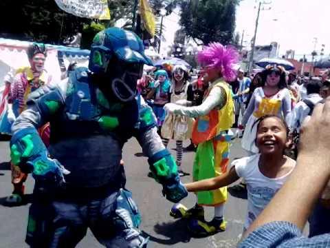 Carnaval de san Pedro tlahuac 2014