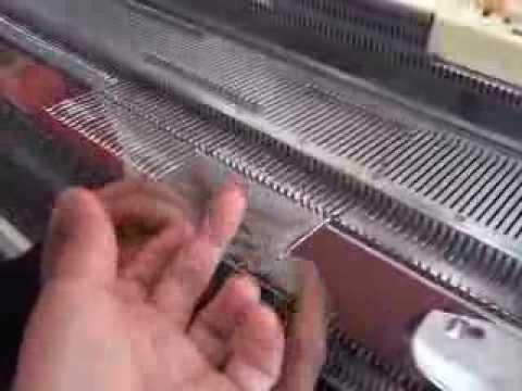 Tejer a maquina leccion 9