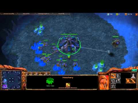 Starcraft II - Zerg Tutorial Working up from Bronze League - Part3