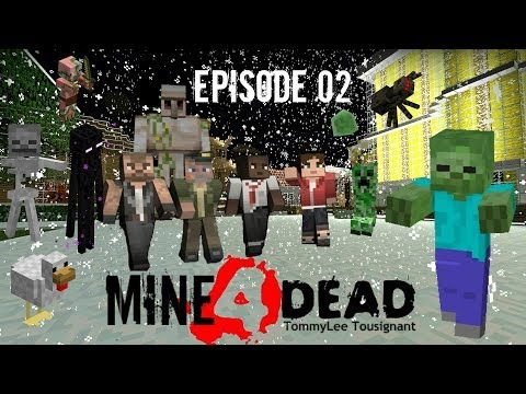 Mine4Dead Ep02 Lava Lake Ravine - BrainZGamingHD