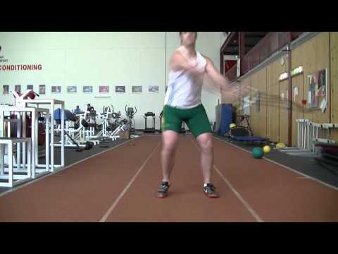 hammer training drills and throw