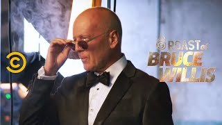 Bruce Willis and Jeff Ross Gear Up for the Roast - Roast of Bruce Willis - Uncensored - COMEDYCENTRAL