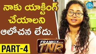 #Sammohanam Director Mohan Krishna Indraganti Part#4 || Frankly With TNR#116 | Talking Movies - IDREAMMOVIES