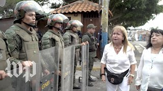 A day of violence at Venezuela's border - WASHINGTONPOST