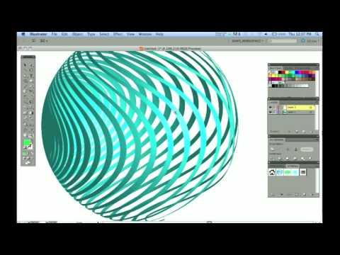Adobe Illustrator_ 3D Mapping to invisible geometry
