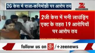 2G scam: Raja, Kanimozhi and others charged with money laundering - ZEENEWS