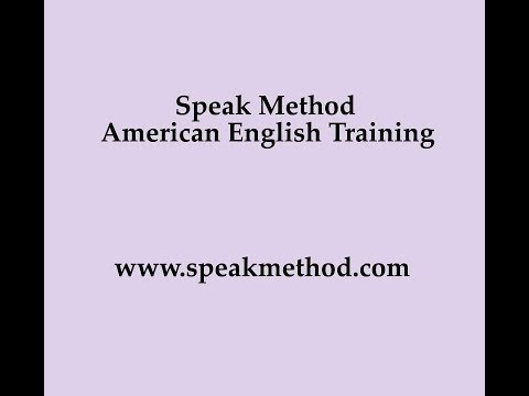 English Pronunciation: Word Stress Practice, American Slang