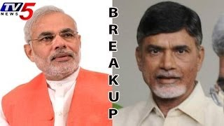 TDP - BJP Combine May Break Up !! - TV5NEWSCHANNEL