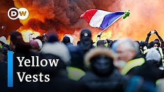 Do the 'yellow vests' share common goals? | DW News - DEUTSCHEWELLEENGLISH