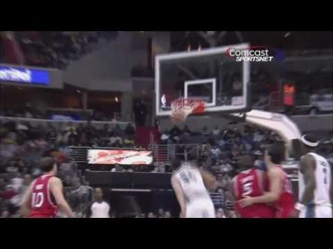 JaVale McGee Top 10 Dunks - 2010-2011 season