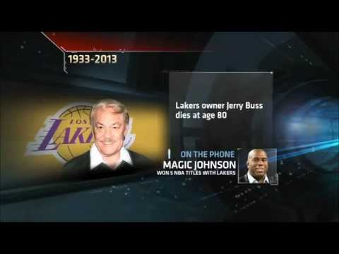 Magic Johnson on Jerry Buss