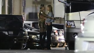 Miley Cyrus Caught Making Out With Victoria Secret Model! (VIDEO) - HOLLYWIRETV