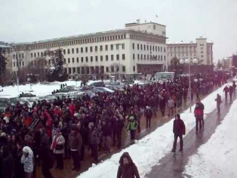 Protest against ACTA - 11.02.2012, Sofia, Bulgaria