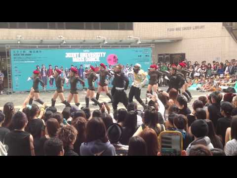 Joint University Mass Dance 2012 @ HKBU - BUDA Current Team