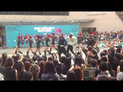Joint University Mass Dance 2012 @ HKBU - BUDA Current Team