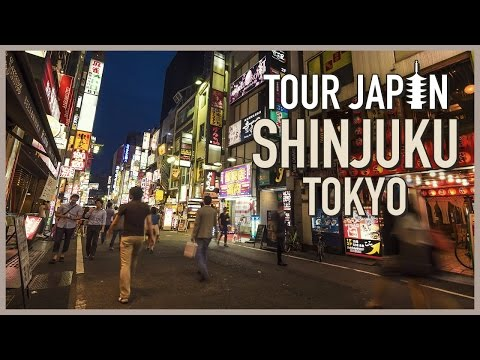 Japan's #1 Nightlife Scene: A Guide to Shinjuku