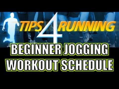 Beginner Jogging Workout Schedule