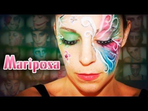 Maquillaje Carnaval: Mariposa, Fantasía #7 | Silvia Quiros