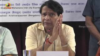 Railway Minister Suresh Prabhu Over Modi Privileges In Railway Works To People | Mango News - MANGONEWS