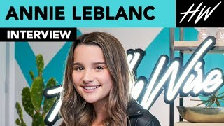 Annie LeBlanc Meets Fans & Answers Their Questions Live!! | Hollywire - HOLLYWIRETV