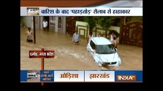 Devastating effect of flood across country | Gujarat, Rajasthan, Uttarakhand, MP, Maharashtra - INDIATV
