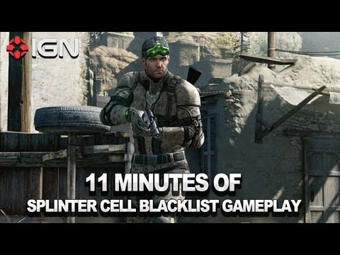 11 Minutes of Splinter Cell Blacklist Gameplay
