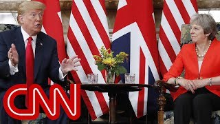 Trump meets with British Prime Minister Theresa May - CNN