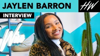"Jaylen Barron Tells Us Her Most EMBARRASSING Day on ""Free Rein"" set!! 